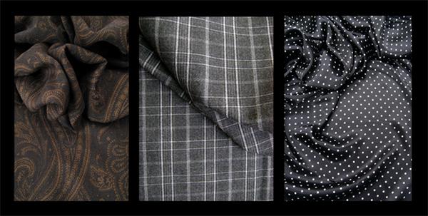 tissus foulard refait