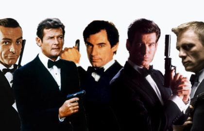 5 James Bond