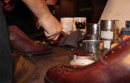 conseils d'entretien de chaussure sur mesure