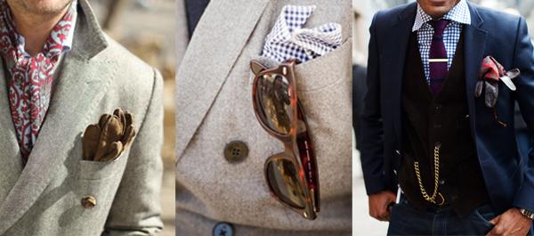pochette avec gants et lunettes