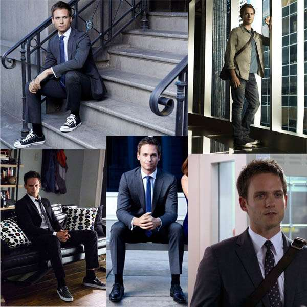 mike ross suits look