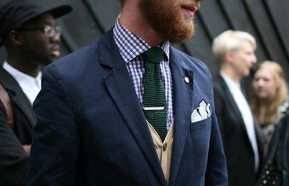 d36506aed7 Tendance - Oser la cravate en tricot - The Men Times par Faubourg Saint  Sulpice -