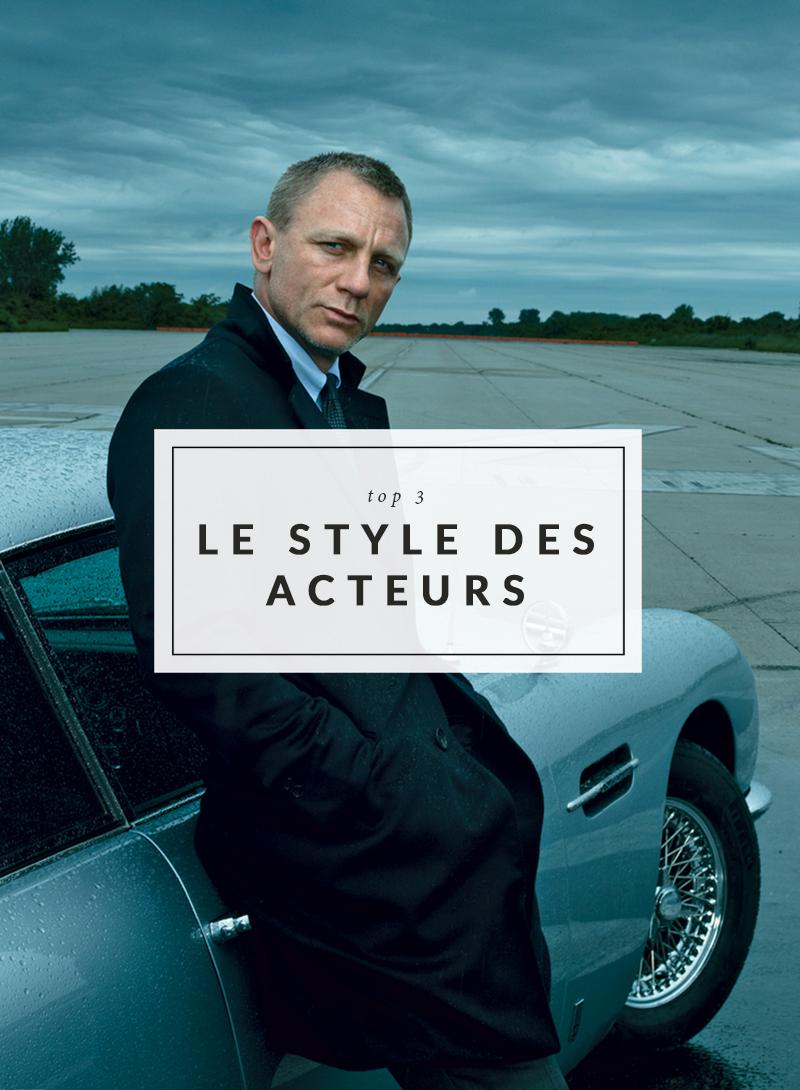 Style - Les acteurs les mieux habillés - The Men Times par Faubourg Saint Sulpice - Photo: Annie Leibovitz pour Vanity Fair - Daniel Craig