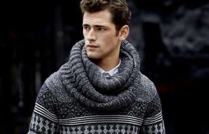 Le cachemire - Antidote contre le froid - The Men Times par Faubourg Saint Sulpice - Sean O'Pry