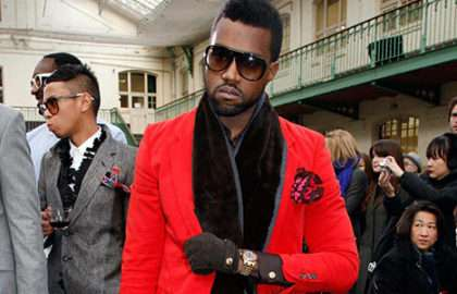 Style - Kanye West - The Men Times par Faubourg Saint Sulpice - Photo: Eric Ryan