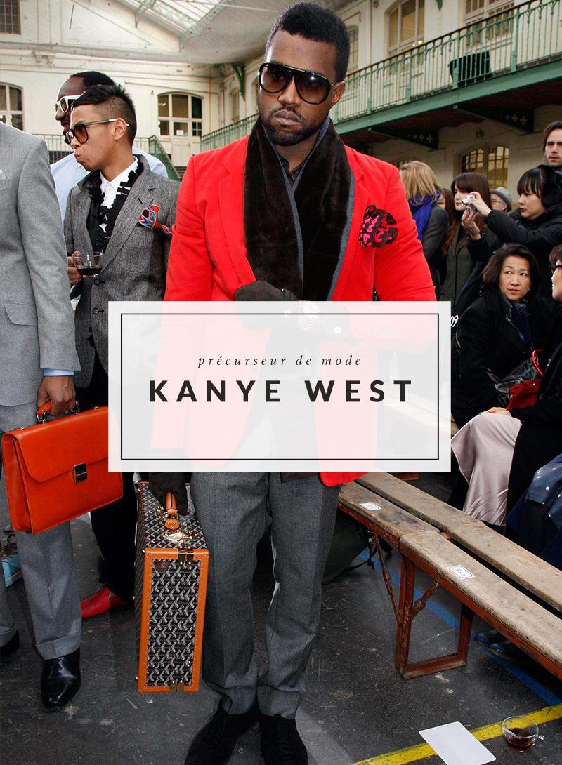 Style - Kanye West - The Men Times par Faubourg Saint Sulpice - Photo: Eric Ryan
