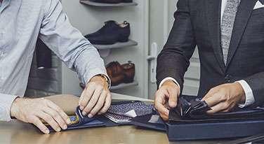 tissus costume tailleur paris sur mesure homme