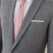 costume sur mesure gris