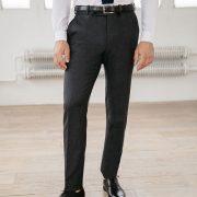 pantalon de costume gris foncé