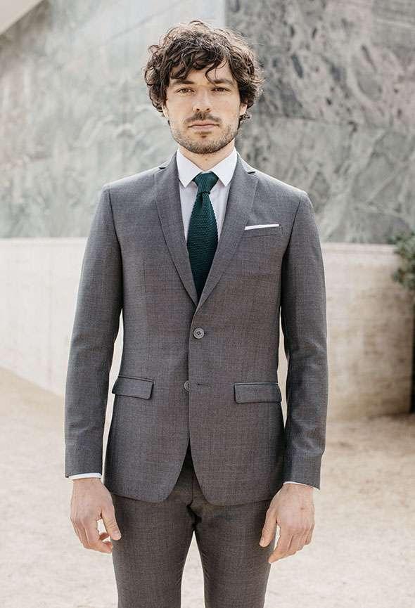 veste sur mesure faubourg saint sulpice gris tailleur paris homme