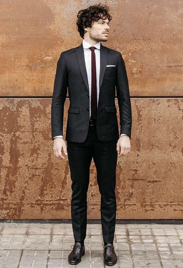 costume sur mesure gris anthracite faubourg saint sulpice tailleur paris homme