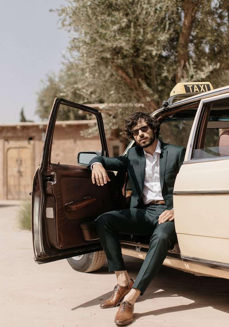 marié taxi kasbah