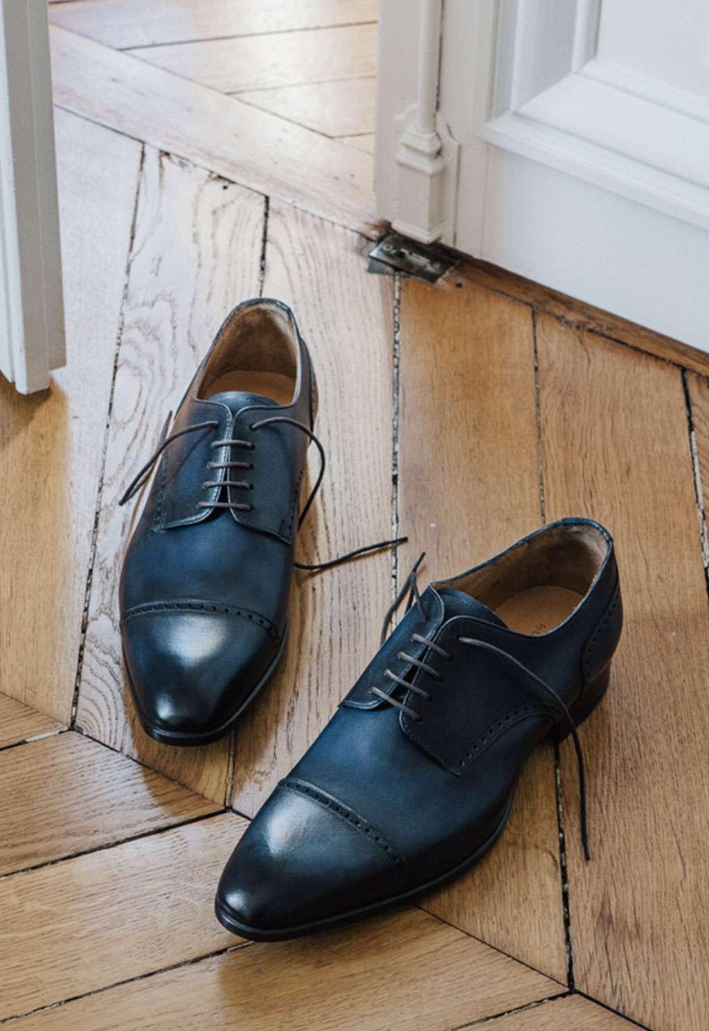 souliers patinés sur mesure faubourg saint sulpice tailleur homme paris association souliers chaussures