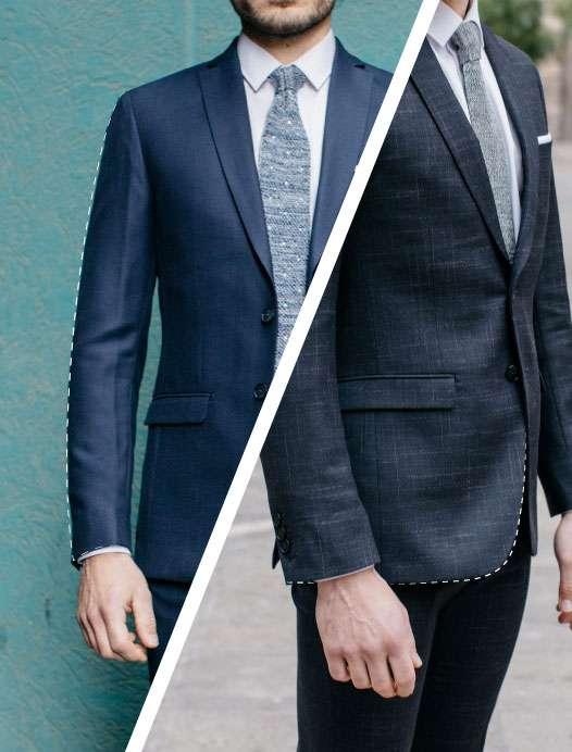 Longueur de manche et longueur de veste tailleur paris costume sur mesure veste