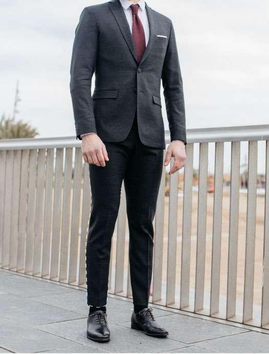 longueur de pantalon de costume sur mesure tailleur paris
