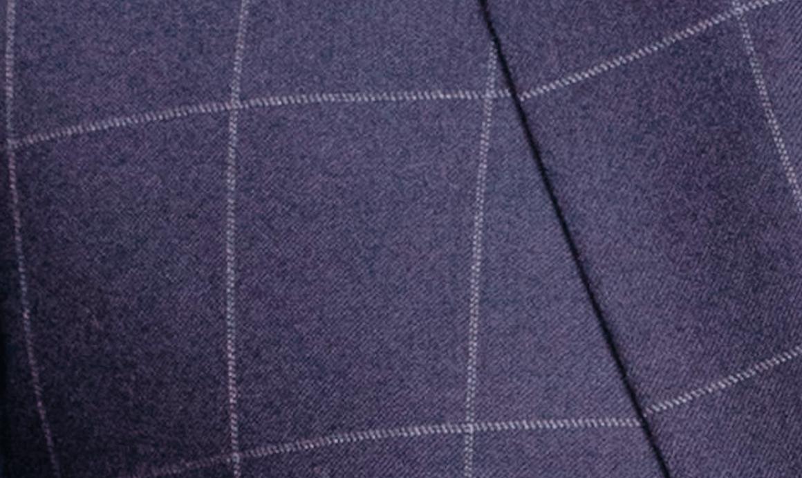 faubourg saint sulpice costume bleu à carreaux