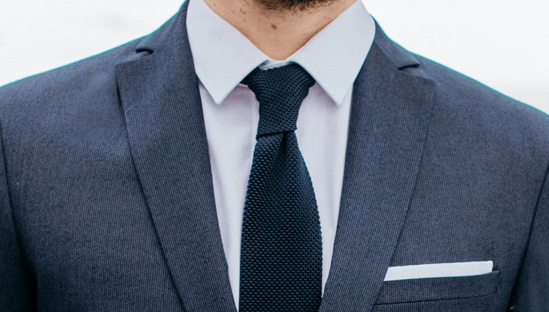 faubourg saint sulpice cravate maille tailleur paris homme